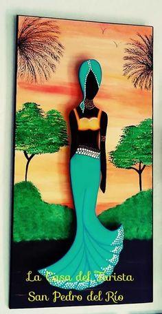 cuadro de negra africana Wall Art Wallpaper, Mural Wall Art, Abstract Wall Art, Scrabble Wall Art, Afrique Art, Abstract Painting Techniques, African Art Paintings, African Dolls, Caribbean Art