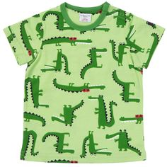 Crocodile Tshirt! So fun!! Children's Clothing | Polarn O. Pyret USA