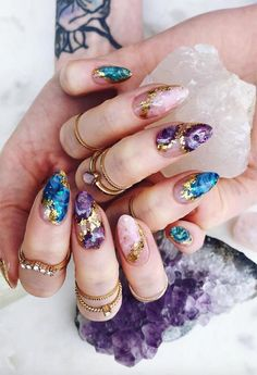 77 Crazy & Cool Ideas for Long Nail Designs to Embrace