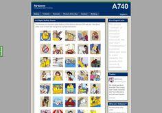http://www.airtoons.com via @url2pin  parody airline safety procedures
