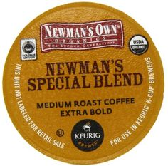 Newman's Own Organics Special Blend (Extra Bold), K-cups For Keurig Brewers, 24-count, Boxes (Pack of 2) - http://thecoffeepod.biz/newmans-own-organics-special-blend-extra-bold-k-cups-for-keurig-brewers-24-count-boxes-pack-of-2/