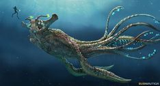 Image result for fantasy sea creatures