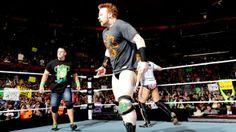 Sheamus, John Cena, & Daniel Bryan vs. The Shield on #WWE #Raw