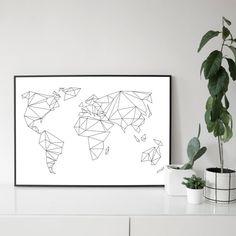 A1 / 50 x 70 POSTER geometrische wereld van studionahili op Etsy https://www.etsy.com/nl/listing/231787794/a1-50-x-70-poster-geometrische-wereld?ref=market