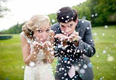 Pinterest - Blowing Glitter
