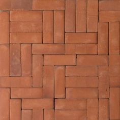 Handmade small terracotta brick tiles are perfect as a feature wall or feature floor. Terracotta floor tiles add instant warmth to your home. Patio Tiles, Brick Tiles, Wall Tiles, Glazed Brick, Glazed Tiles, Exterior Tiles, Interior And Exterior, Floor Patterns, Tile Patterns