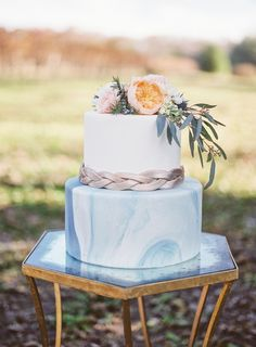 Marbled Wedding Cake by Sugar Bee Sweets Bakery  See more here: https://www.pinterest.com/pin/564849978244872038/