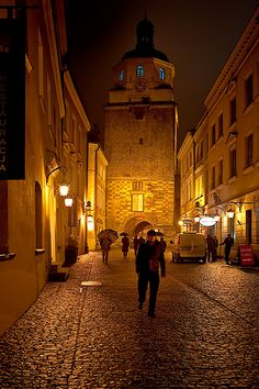Krakow Gate, Lublin, Poland...
