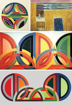 Frank Stella. I remember seeing these at the Whitney when they were first shown.