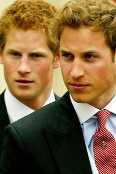 Brothers Princes William and Harry