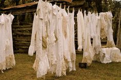 lovelies hanging to dry