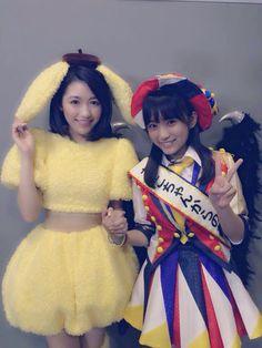 Mayuyu & Nako #AKB48 #HKT48