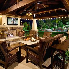 Covered Patio Patio Design Ideas, Pictures, Remodel and Decor