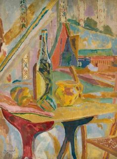 Duncan Grant (British, 1885-1978), Still Life, Lime Juice, 1915. Oil on canvas, 76 x 56 cm