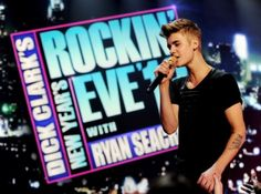 Video: Justin Bieber celebrates New Year Eve with performance on ABC!