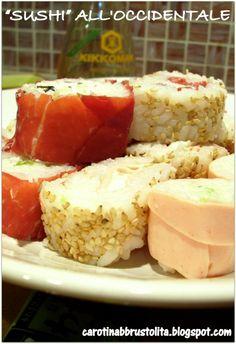 Antipasto di sushi all'occidentale