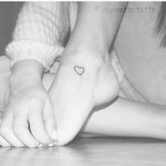 Love little heart tattoos  so cute and feminine. Love the placement of this one!!