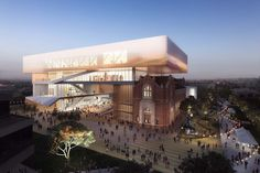 New Museum for Western Australia | Architect Magazine | Hassell, Office for Metropolitan Architecture (OMA), Perth, Western Australia, Australia,…