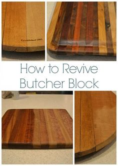 How To Revive Butcher Block