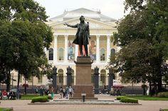 Санкт-Петербург, памятник Пушкину