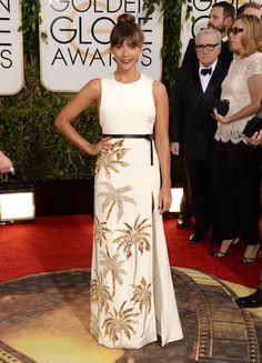 Rashida Jones | Fashion On The 2014 Golden Globes Red Carpet via BuzzFeed