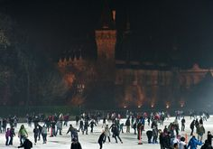 From the history of Budapest's Icerink The City Park Ice Rink is a public ice rink located in the City Park of the Hungarian capital Budapest, between the Heroes' Square and the Vajdahunyad Castle. Ice Rink, Park City, Budapest, Hamilton, Dolores Park, Castle, Street View, Dreams, History