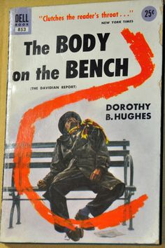 Vintage Murder Mystery. The Body on the Bench by by RustyCurios