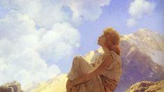 Maxfield Parrish, Morning, 1922