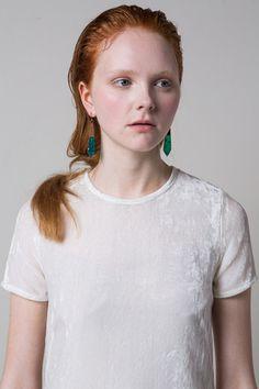 Emerald Metallic Drop Earrings – Limedrop