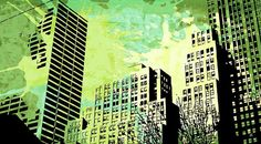 Pop City 13 Digital Art by Melissa Smith