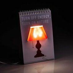 Luminária Bloco de Anotações