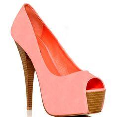 JustFab Lenora - Pink ($60) ❤ liked on Polyvore