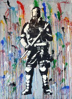 Street Art Par Blek Le Rat - Greenwich (CT) - Street-art et Graffiti Arte Banksy, Banksy Graffiti, Amazing Street Art, Amazing Art, Blek Le Rat, Les Rats, Beaux Arts Paris, Street Art News, Protest Art