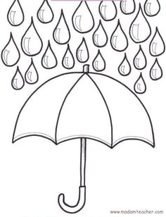 Spring printables, art & craft projects for kids - design your own umbrella- The Imagination Box Spring Projects, Craft Projects For Kids, Spring Crafts, Art Projects, Spring Activities, Art Activities, Spring Coloring Pages, Free Printable Coloring Pages, Free Printables