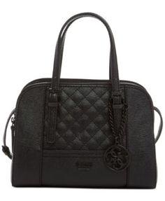 2c11fc962d GUESS Huntley Small Cali Satchel   Reviews - Handbags   Accessories - Macy s