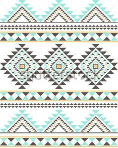 Navajo/Tribal Pattern (Vector) by Vector Ninja, via ShutterStock Weaving Patterns, Quilt Patterns, Tribal Background, Tribal Images, Aztec Tribal Patterns, Navajo Art, Aztec Fabric, Navajo Pattern, Navajo Weaving