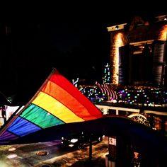 800 #bourbonstreet #mardigras #frenchquarter #neworleans #gay #instagay #nola #travel #travelgram  by lisaextraordinaire