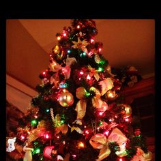 I've always been partial to the multi-colored lights.