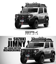Suzukisamurai New Suzuki Jimny, Jimny 4x4, Samurai, Kei Car, 4x4 Off Road, Mini Trucks, Toyota Cars, Ford Bronco, Custom Cars