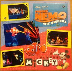 Finding Nemo the Musical - Scrapbook.com