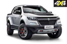 Walkinshaw reveals that a twin-turbo petrol Colorado is in the works, the Wildfire is set to shake up the industry competing against the new Ford Ranger Raptor. S10 Truck, 4x4 Trucks, Chevy Trucks, 2017 Chevy Colorado, Holden Colorado, The New Ford Ranger, Ford Ranger Raptor, Twin Turbo, Toys For Boys