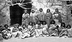 Remarkable image, said to show a number of surviving Apache women and children taken prisoner after the massacre of Victorio and his people at Tres Castillios in They were taken into slavery in Mexico and few, if any, ever returned. Native American Photos, Native American History, Native American Indians, Native Americans, Plains Indians, Apache Indian, Indochine, First Nations, Nativity