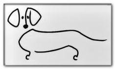 Dog outline - Daily Dog Buzz Dog Outline, Wood Burning, Dogs, Pet Dogs, Doggies, Woodburning, Firewood