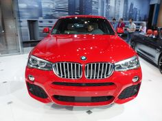 Earlier today the new 2015 BMW made its world debut at the 2014 New York Auto Show. Bmw X4, My Ride, Live Photos, New York, Vehicles, Car, Lifestyle, Automobile, New York City
