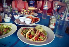 Vegetarian tacos in Mexico