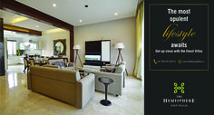 The #most #opulent #lifestyle awaits  Get up-close with the #finest #Villas  For more information call: 8010202272