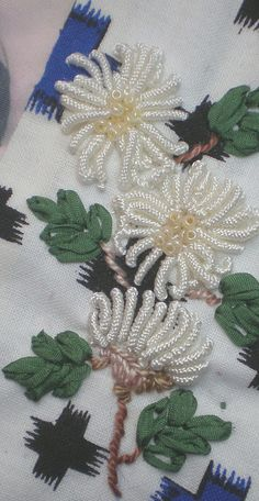 embroidery with beading