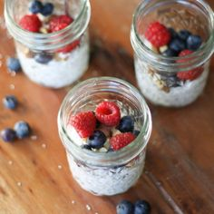 Whipped Coconut Chia Seed Pudding for the healthiest, most divine dessert
