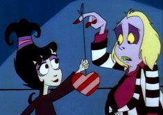 """""""Go ahead, babes. Tug on my heart string!""""""""Okay!"""""""