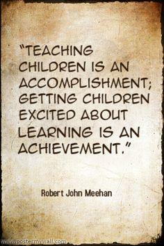 Robert John Meehan Teacher Appreciation Quotes TheTeachersJourney.com